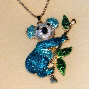 NEW‼️Delightful Koala Bear Betsey Johnson necklace